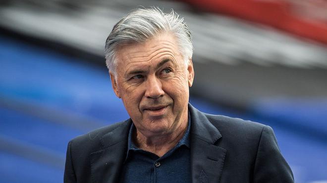 Carlo Ancelotti, autoritario con el Real Madrid en Champions