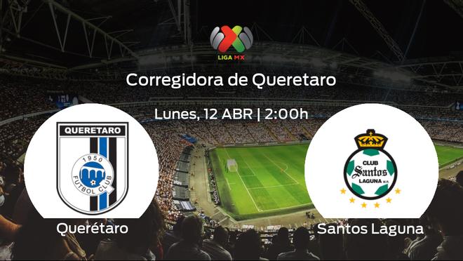 Previa del encuentro: el Querétaro recibe al Santos Laguna en la decimocuarta jornada