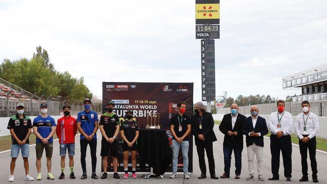 Barcelona recibe por todo lo alto al Mundial de Superbikes