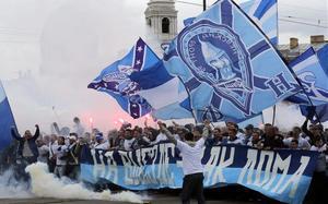 La afición del Zenit celebró el título