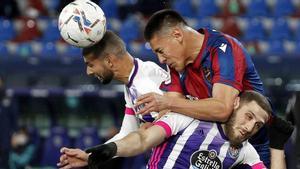 El resumen del empate entre Levante y Valladolid