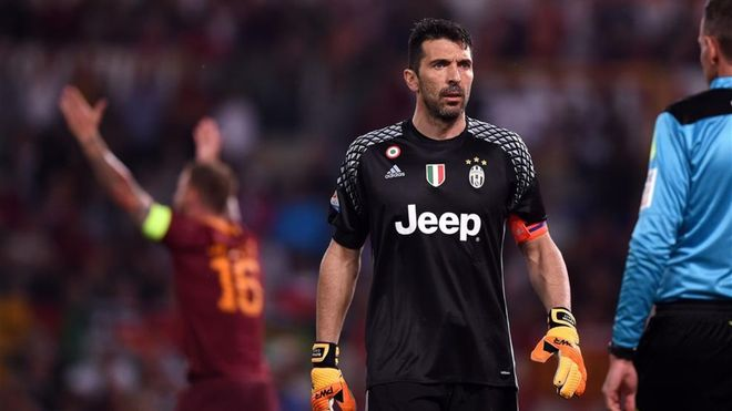 Buffon se mantiene al frente de la clasificación histórica: 52,9 millones de euros