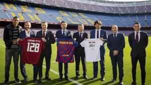 Legends of Style, la gira de los equipos de leyendas del Barça y Milan