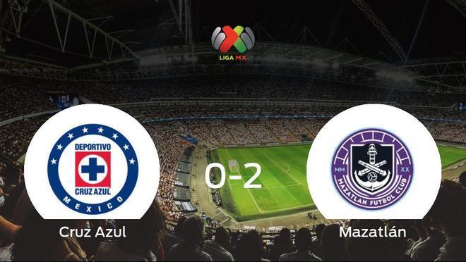El Mazatlán se impone por 0-2 al Cruz Azul