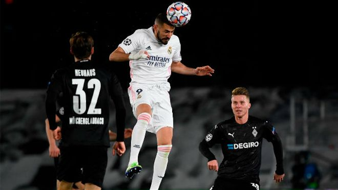 El doblete de Benzema que mete al Madrid en Octavos
