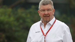 Ross Brawn, director deportivo de la F1