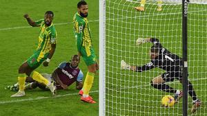El resumen de la victoria del West Ham sobre el West Bromwich