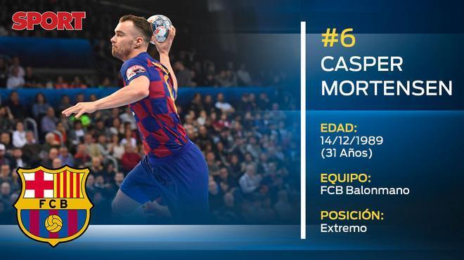 Casper Mortensen (FC Barcelona balonmano)