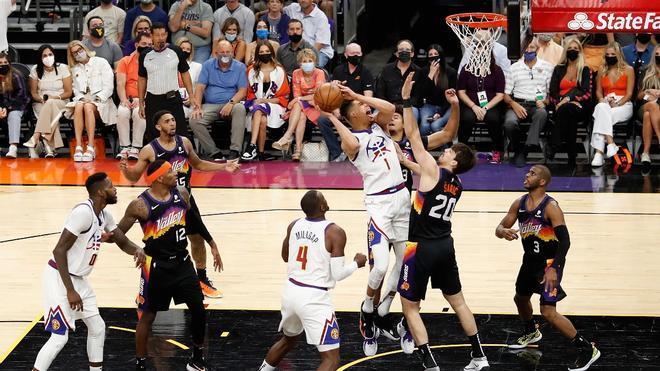 El segundo duelo entre los Suns y los Nuggets