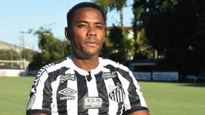 El Santos ha suspendido provisionalmente el contrato de Robinho a la espera de tomar una decisión definitiva