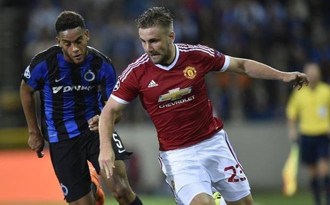 Luke Shaw está en el ojo del huracán y señalado por Mourinho