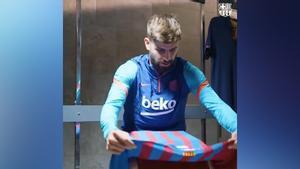 Piqué opina sobre la camiseta del Barça para la temporada 2021/2022