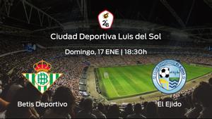Previa del encuentro: el Betis Deportivo recibe en casa a El Ejido