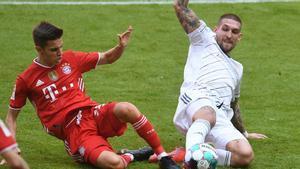 La primera titularidad de Dantas en la Bundesliga