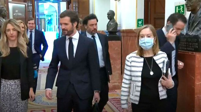 Calvo y Arrimadas regresan al Congreso para el debate sobre la prórroga
