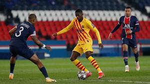 No fue la noche de Dembélé: Las ocasiones que podrían haber acercado al Barça a la remontada