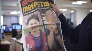Iniesta TV visita la redacción de Diario Sport