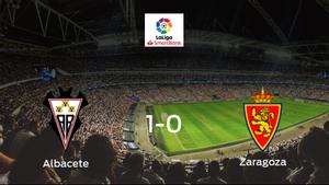 El Albacete se queda con los tres puntos ante el Real Zaragoza (1-0)