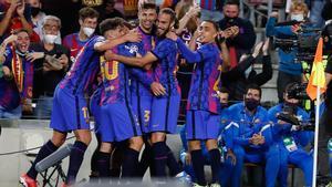 Las mejores imágenes de la victoria del Barça ante el Dinamo de Kiev
