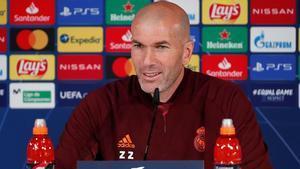Zidane: No vamos a gestionar esfuerzos, venimos a ganar