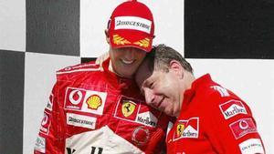 Todt mantiene una gran amistad con Schumacher y su familia