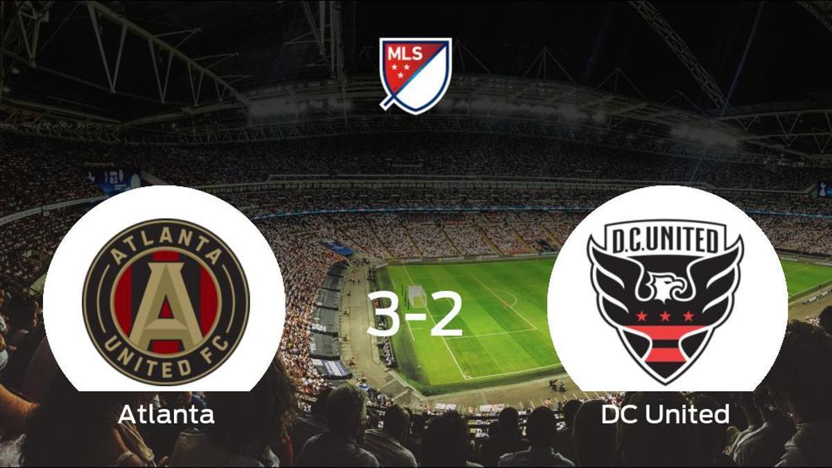 Tres puntos para el equipo atlantés: Atlanta United 3-2 DC United