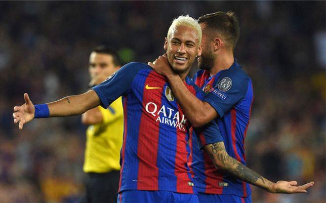Neymar se reunió con el PSG