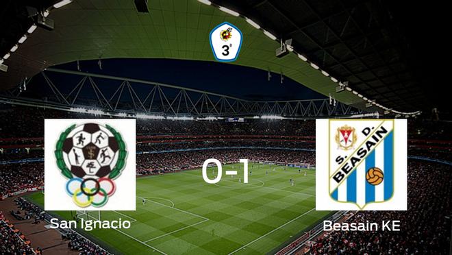 El Beasain KE vence 0-1 al San Ignacio