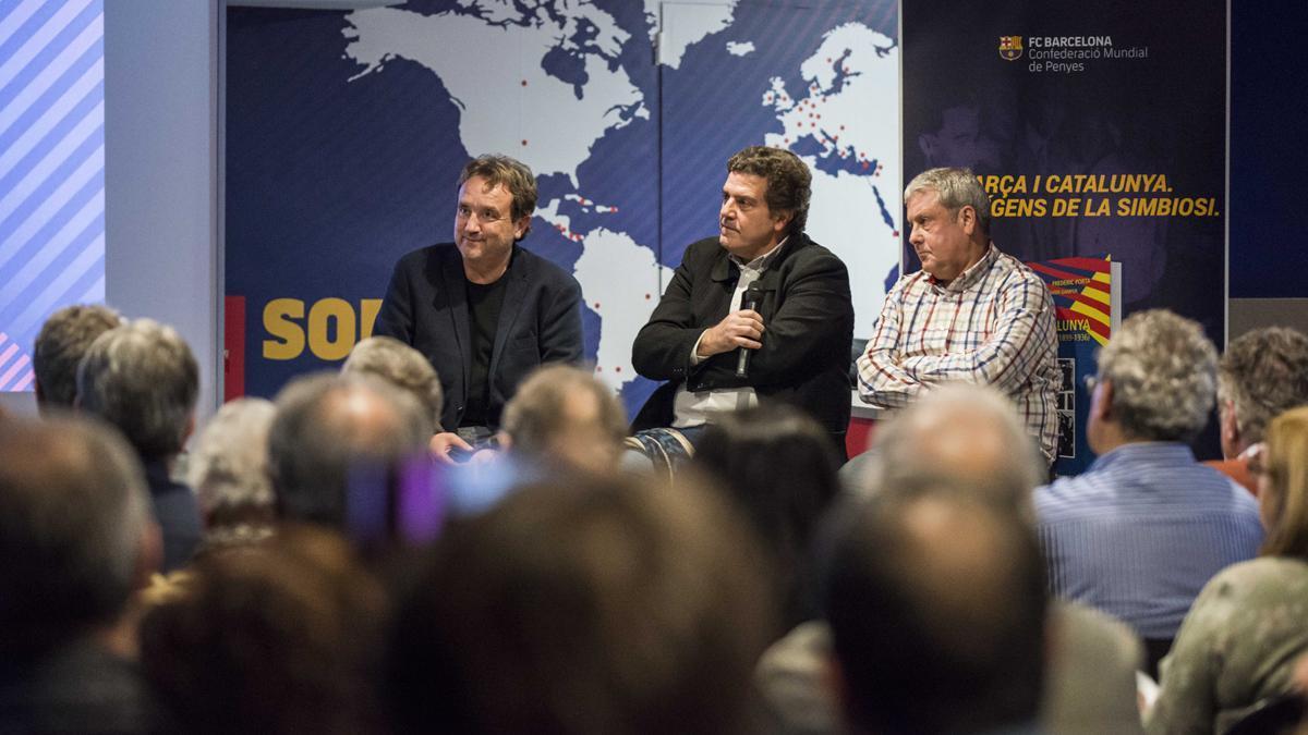 Salva Torres, Frederic Porta y Xavier Gamper conducen las conferencias 'Barça i Catalunya'