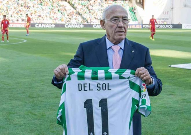 Luis del Sol es considerado el mejor futbolista salido de la cantera del Betis