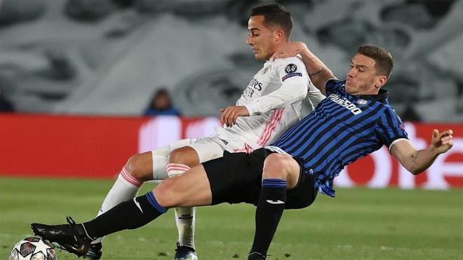 La ocasión de Robin Gosens ante el Real Madrid