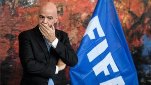 Gianni Infantino, actual presidente de la FIFA.