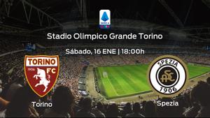 Jornada 18 de la Serie A: previa del encuentro Torino - Spezia Calcio