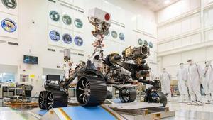 Así han sido las pruebas a Perseverance, el rover de la NASA que viajará a Marte