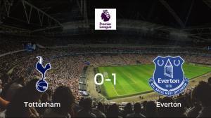 Triunfo del Everton frente al Tottenham Hotspur (0-1)