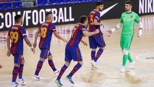 El Barça sigue en una excelente línea pese a las ausencias