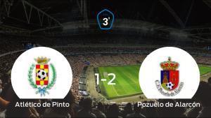 El Pozuelo de Alarcón aprovecha la segunda parte para ganar al Atlético de Pinto (1-2)