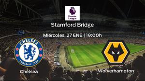 Previa del partido: Chelsea - Wolverhampton Wanderers