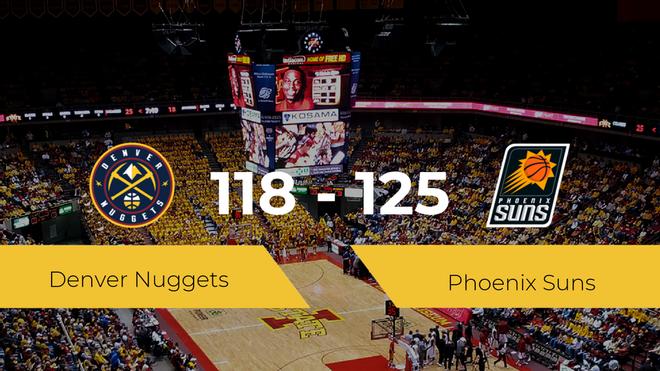 Phoenix Suns se hace con la plaza de la final de la conferencia oeste tras ganar a Denver Nuggets por 118-125