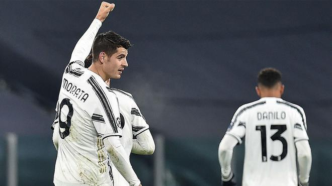 Morata sigue con su buena racha anotadora ante el Dinamo