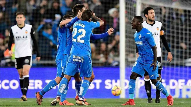LALIGA   Getafe - Valencia (1-0)