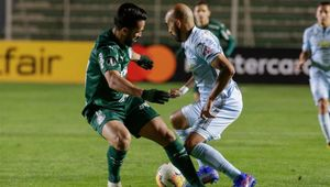 Bolivar no pudo con Palmeiras en el Hernando Siles de La Paz