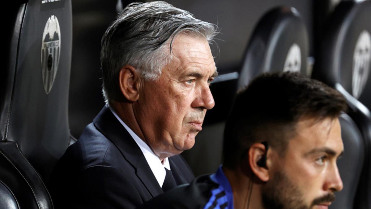 Ancelotti no cuenta con Vallejo, Mariano y Gutiérrez
