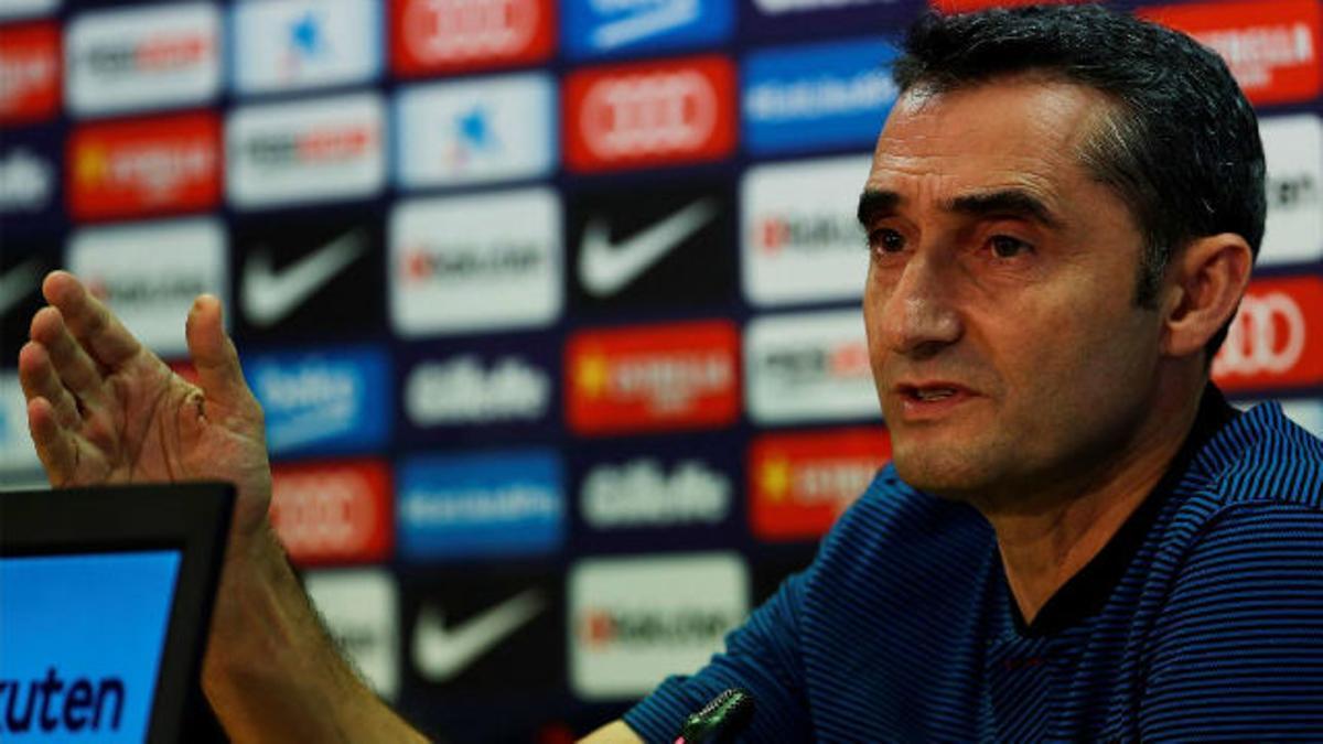 Valverde habló sobre el caso Griezmann