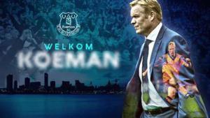 El Everton dio así la bienvenida a su nuevo entrenador, Ronald Koeman