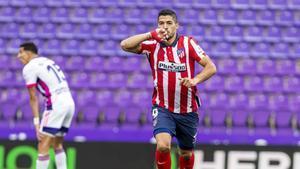 Suárez marcó el gol de la victoria del Atlético