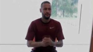 Neymar Junior muestra su entreno