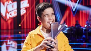 España elige a Levi Díaz, triunfador de La Voz Kids, como representante de Junior Eurovision