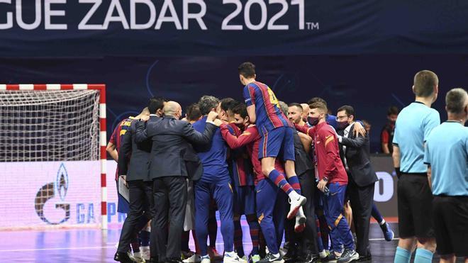 El Barça se jugará ante el Kairat el pase a la final