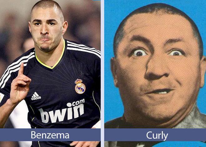 benzema curly